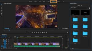 adobe premiere drone video