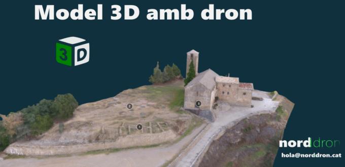 Avantatges d'un model 3D fet amb dron