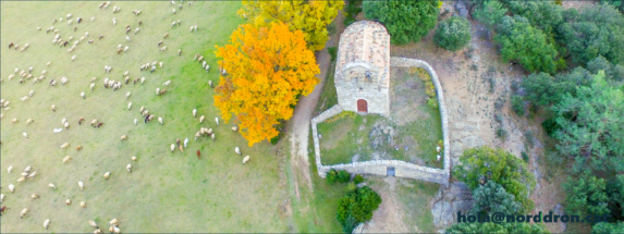 Foto amb drone per turisme rural