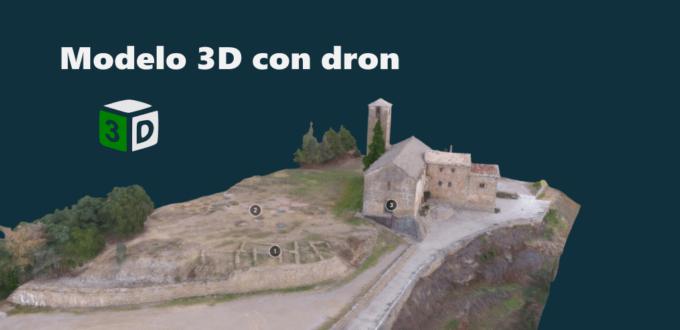Ventajas de un modelo 3D realizado con drone