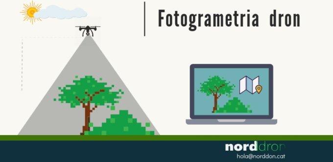 Màxima resolució en fotogrametria amb dron