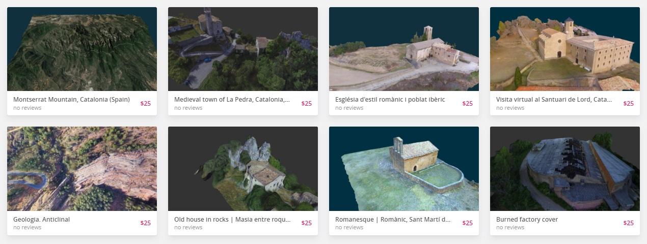 Terradron 3D model store