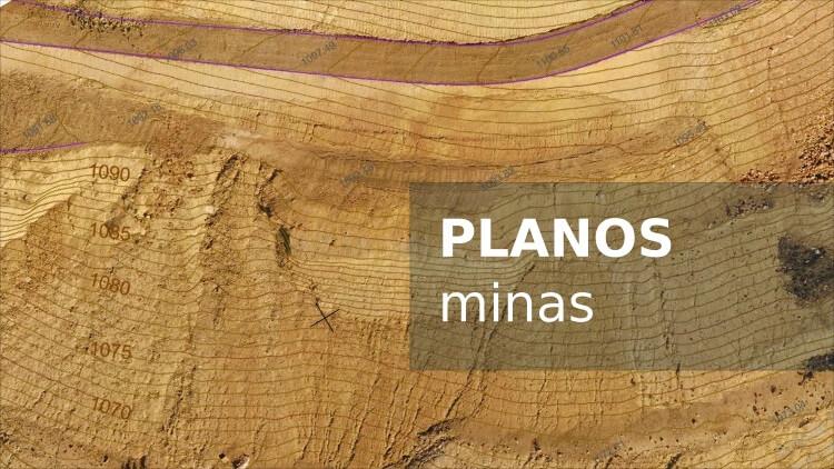 Cartografía geomatica Plano Mina modelo digital terreno fotogrametria drones terradron Jaume Balagué