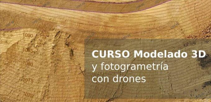 Curso mineria modelo 3D digital terreno fotogrametria drones terradron Jaume Balagué