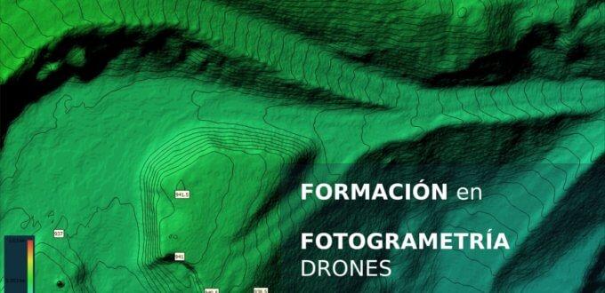 Formación en fotogrametría, 3D y drones