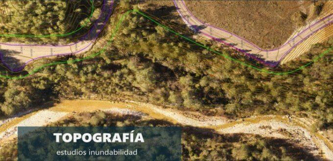 Topografía y fotogrametría con drones para estudios inundabilidad drones